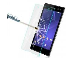Apsauga ekranui grūdintas stiklas Sony Xperia T3 mobiliesiems telefonams