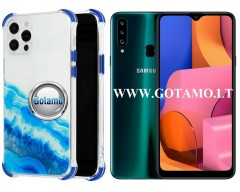 ColorWave dėklas nugarėlė Samsung Galaxy A20s telefonams žydros spalvos