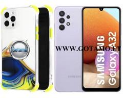 ColorWave dėklas nugarėlė Samsung Galaxy A32 telefonams geltonos spalvos