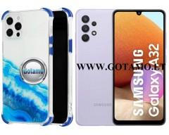 ColorWave dėklas nugarėlė Samsung Galaxy A32 telefonams žydros spalvos