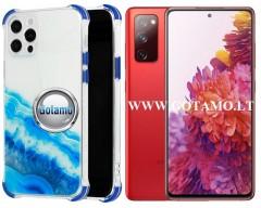 ColorWave dėklas nugarėlė Samsung Galaxy S20 FE telefonams žydros spalvos