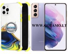 ColorWave dėklas nugarėlė Samsung Galaxy S21 telefonams geltonos spalvos