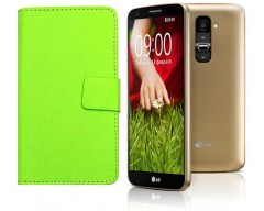 Diary Mate dėklas LG G2 mini mobiliesiems telefonams salotinės spalvos