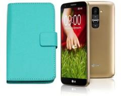 Diary Mate dėklas LG G2 mini mobiliesiems telefonams žydros spalvos