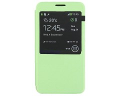 Diary Talk dėklas Samsung Galaxy Note 3 Neo telefonams salotinės spalvos