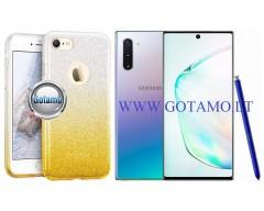 iLLuminaTe silikoninis dėklas nugarėlė Samsung Galaxy Note 10 telefonams aukso spalvos