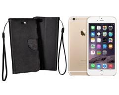 Manager dėklas Apple iPhone 6 Plus 6s Plus mobiliesiems telefonams juodos spalvos