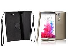 Manager dėklas LG G3 S mobiliesiems telefonams juodos spalvos