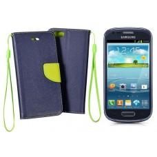 Manager dėklas Samsung Galaxy S3 mini mobiliesiems telefonams tamsiai mėlynos spalvos