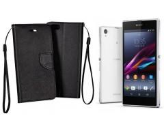 Manager dėklas Sony Xperia Z1 mobiliesiems telefonams juodos spalvos