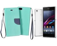 Manager dėklas Sony Xperia Z1 mobiliesiems telefonams mėtinės spalvos
