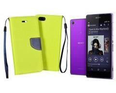 Manager dėklas Sony Xperia Z2 mobiliesiems telefonams salotinės spalvos