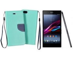 Manager dėklas Sony Xperia Z3+ mobiliesiems telefonams mėtinės spalvos