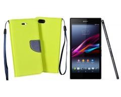 Manager dėklas Sony Xperia Z3+ mobiliesiems telefonams salotinės spalvos