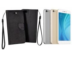 Manager dėklas Xiaomi Redmi Note 5A telefonams juodos spalvos