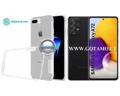 Nillkin silikoninis dėklas nugarėlė Samsung Galaxy A72 telefonams