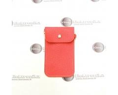 Pouch universalus dėklas mobiliems telefonams oranžinės spalvos