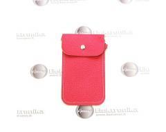Pouch universalus dėklas mobiliems telefonams rožinės spalvos