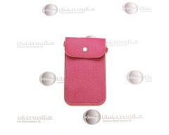 Pouch universalus dėklas mobiliems telefonams violetinės spalvos