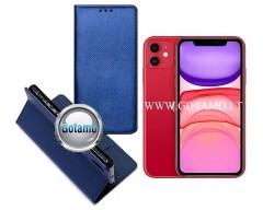 Re-Grid magnetinis dėklas Apple iPhone 11 telefonams mėlynos spalvos