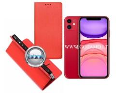 Re-Grid magnetinis dėklas Apple iPhone 11 telefonams raudonos spalvos