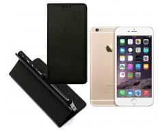 Re-Grid magnetinis dėklas Apple iPhone 6 Plus 6s Plus telefonams juodos spalvos