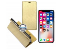 Re-Grid magnetinis dėklas Apple iPhone X Xs telefonams aukso spalvos