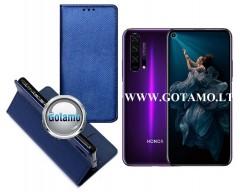 Re-Grid magnetinis dėklas Huawei Honor 20 Pro mobiliesiems telefonams mėlynos spalvos