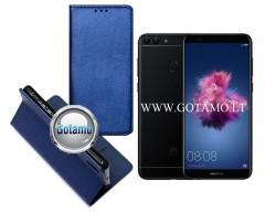 Re-Grid magnetinis dėklas Huawei P Smart telefonams mėlynos spalvos