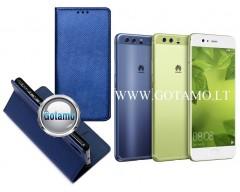 Re-Grid magnetinis dėklas Huawei P10 mobiliesiems telefonams mėlynos spalvos
