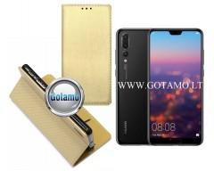 Re-Grid magnetinis dėklas Huawei P20 Pro mobiliesiems telefonams aukso spalvos