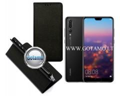 Re-Grid magnetinis dėklas Huawei P20 Pro telefonams juodos spalvos