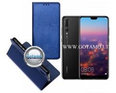 Re-Grid magnetinis dėklas Huawei P20 Pro telefonams mėlynos spalvos