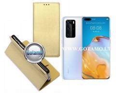 Re-Grid magnetinis dėklas Huawei P40 Pro telefonams aukso spalvos