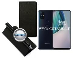 Re-Grid magnetinis dėklas OnePlus Nord N10 5G telefonams juodos spalvos