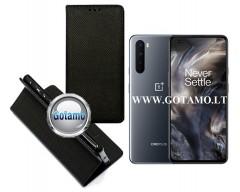Re-Grid magnetinis dėklas OnePlus Nord telefonams juodos spalvos