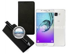 Re-Grid magnetinis dėklas Samsung Galaxy A5 (2016) telefonams juodos spalvos