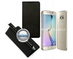 Re-Grid magnetinis dėklas Samsung Galaxy S6 edge telefonams juodos spalvos
