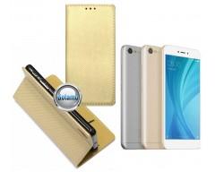 Re-Grid magnetinis dėklas Xiaomi Redmi Note 5A telefonams aukso spalvos