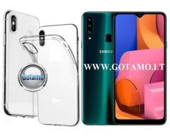 Skin silikoninis dėklas 2MM storio Samsung Galaxy A20s telefonams