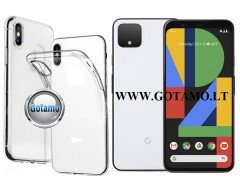 Skin silikoninis dėklas Google Pixel 4 telefonui