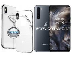 Skin silikoninis dėklas OnePlus Nord telefonui