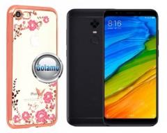 Spring dėklas nugarėlė Xiaomi Redmi 5 Plus telefonams rožinės spalvos