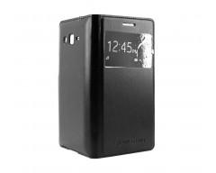 Supersede Leaf dėklas Samsung Galaxy Grand 2 telefonams juodos spalvos