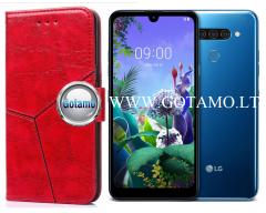 Turtle Dėklas LG Q60 mobiliesiems telefonams raudonos spalvos