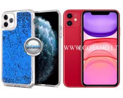 Waterfall2 dėklas nugarėlė Apple iPhone 11 telefonams mėlynos spalvos