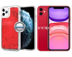 Waterfall2 dėklas nugarėlė Apple iPhone 11 telefonams raudonos spalvos