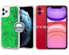 Waterfall2 dėklas nugarėlė Apple iPhone 11 telefonams žalios spalvos