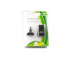 Baterija ir kroviklis Microsoft Xbox 360 pulteliui juodos spalvos