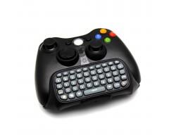 Klaviatūra Microsoft Xbox 360 pulteliui juodos spalvos
